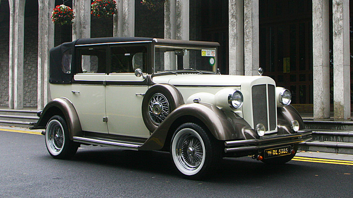 The White 1930s Regent Convertible
