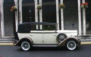 The White 1930s Regent Convertible 2