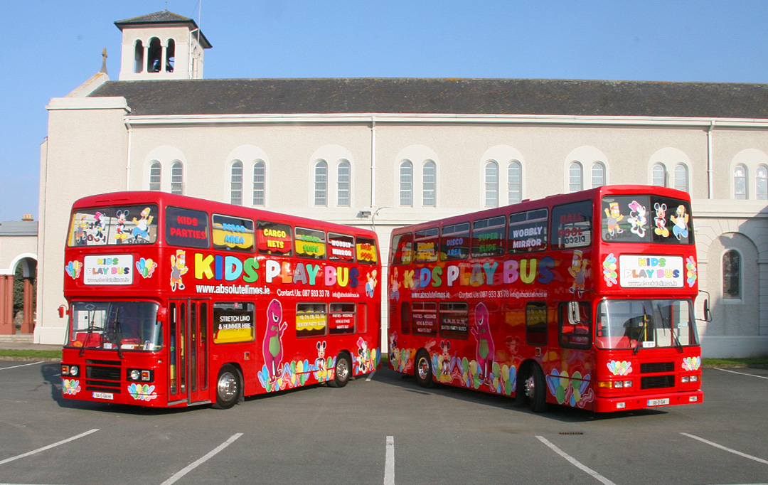 The Kids Play Bus Absolute Wedding Carsabsolute Wedding Cars